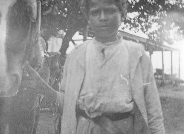 Kulidreng fotograferet på De Vestindiske Øer i 1903.