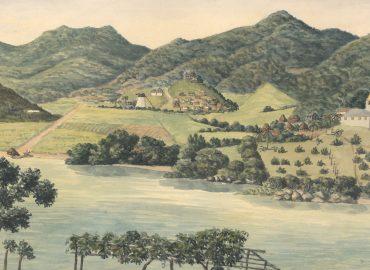 Plantagen Carolina ved Coral Bay på St. Jan.