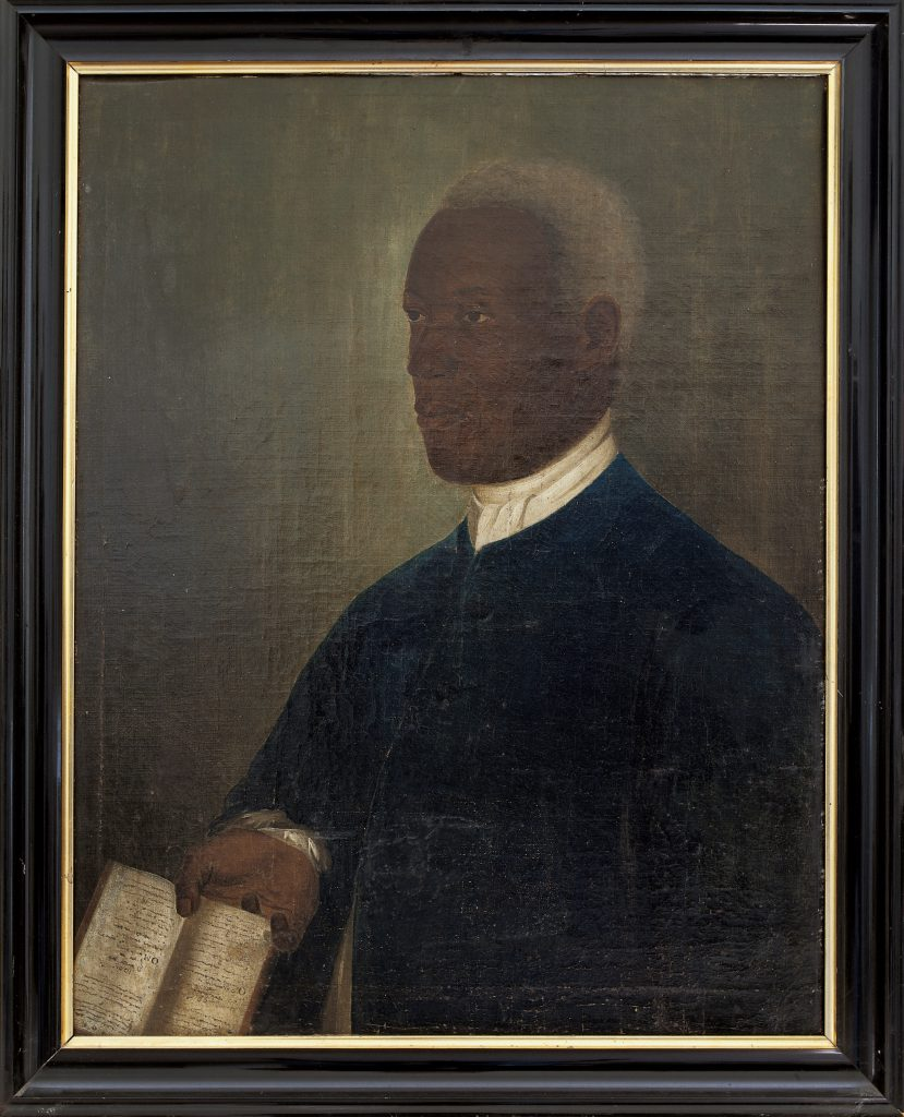 Painting of the slave Cornelius.