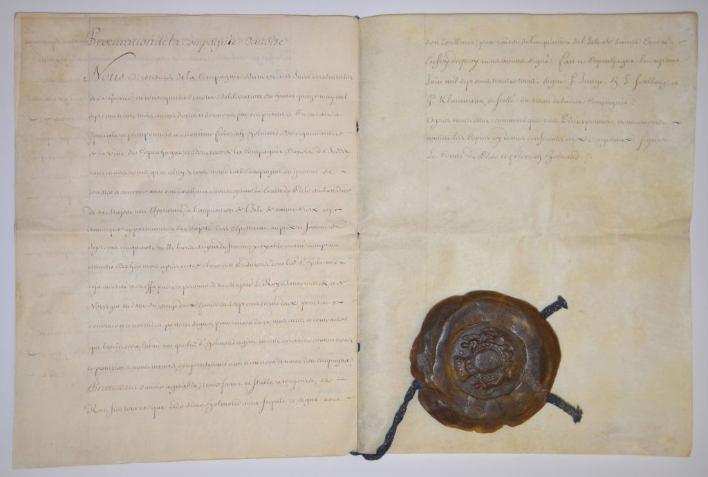 The treaty of June 15, 1733.