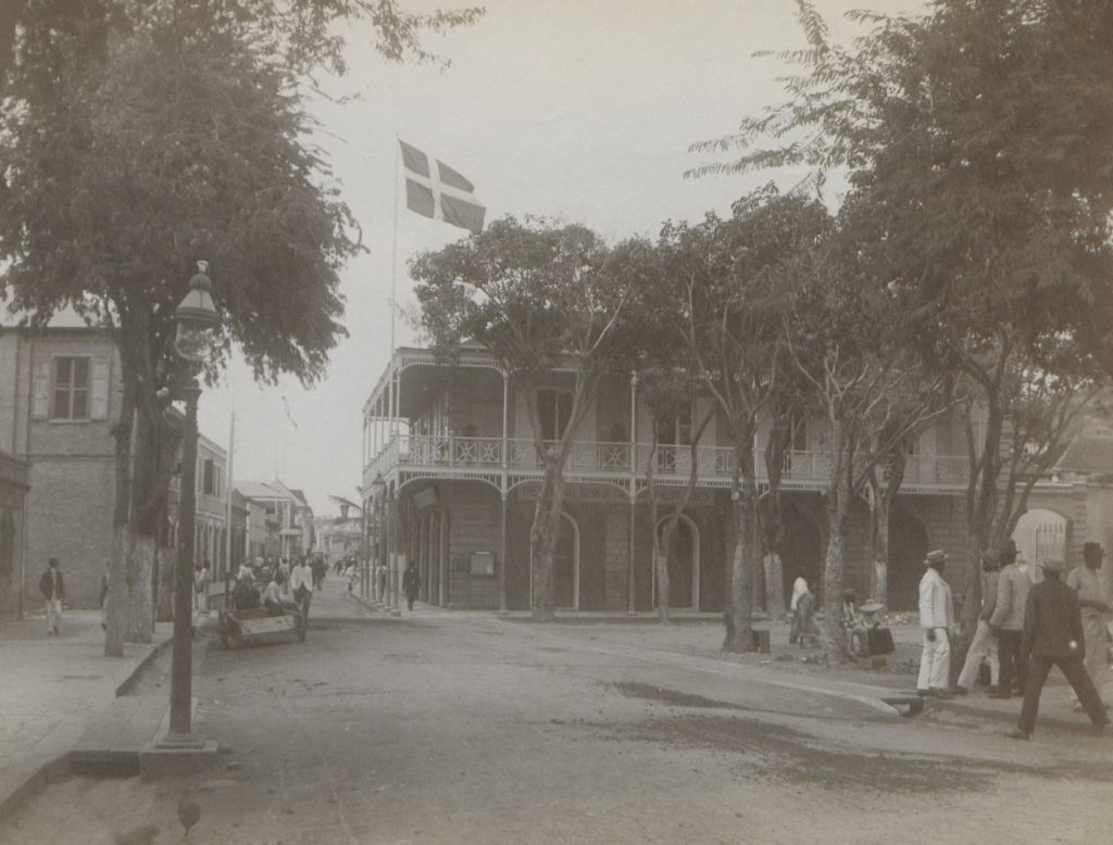 Picture of The headquarters of the Danish-West Indian National Bank.