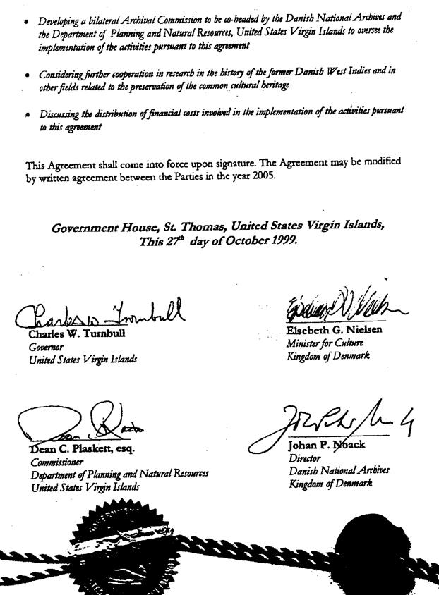 Arkivaftalen af 1999.