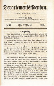 Danish Act on compensation to the former owners of enslaved persons in the Danish possessions in the West Indies.